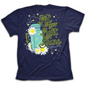 """""""Lightning Bug"""" Cherished Girl Christian T-Shirts"""
